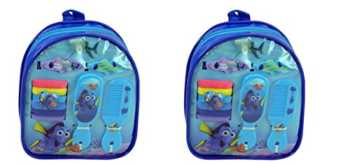 Finding Dory Mini Backpack Hair Accessories Set (2 Backpack)