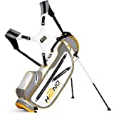 Sun Mountain Golf 2014 H2NO Ultra Lite Stand Bag White/Grey/Yellow