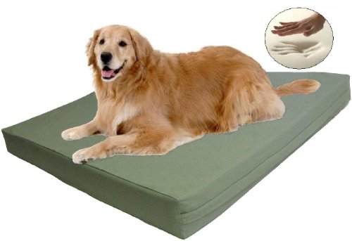Therapeutic Waterproof Memory Foam Dog Pet Bed, Extra Large 40