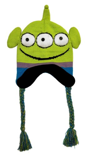 Toy Story Alien Face Adult Pilot Laplander Hat