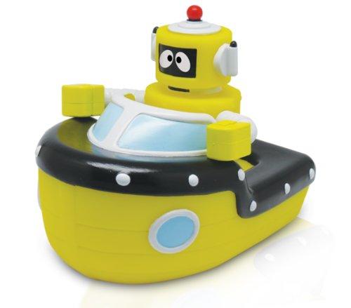 YO GABBA GABBA - Plex Boat Squeezy Bath Toy - 1