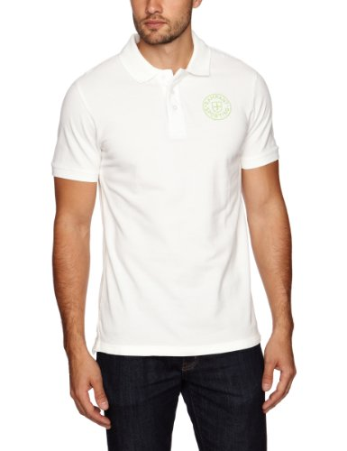 Rampant Sporting Short Sleeve Polo Men's Shirt Off White X-LargeX-LargeRampant Sporting Short Sleeve Polo Men's Shirt Off White X-LargeRampant Sporting Short Sleeve Polo Men's Shirt