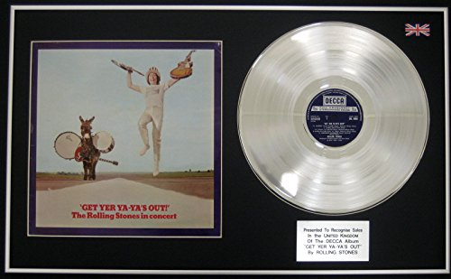 "The Rolling Stones-LP CD & Platinum-Cover ""Get Yer Ya Ya's Out"