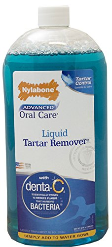 Nylabone Advanced Oral Liquid Tartar Remover Dog Health Supplies, 32fl.oz.