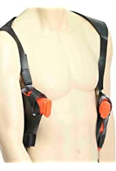 Police Double Detective Holster Set