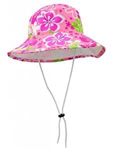 Tuga Girls Bucket Hat (UPF 50+), Rosita, Large