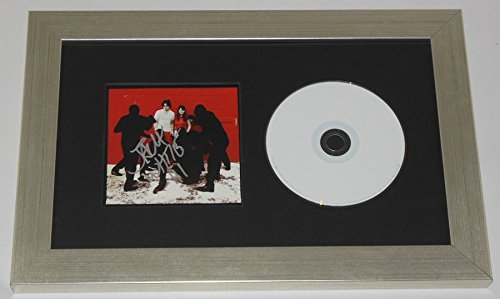 The White Stripes White Blood Cells Jack White Signed Autographed Music Cd Compact Disc Cover Framed Display Loa