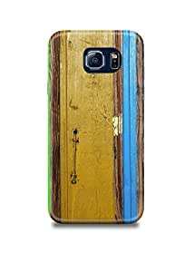 Colored Wood Samsung S7 Edge Case