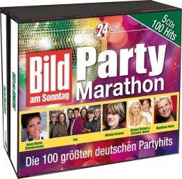 bild am sonntag party marathon 5 cd box musik. Black Bedroom Furniture Sets. Home Design Ideas