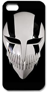 Bleach Hollow Mask HD image case cover for iphone 5 black well-designed gift
