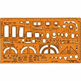Standardgraph ST7300 - Architekt Werkplanschablone Maßstab 1:50