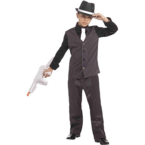 20s Lil Gangster Kids Costume