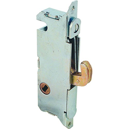 Prime-Line Products E 2014 Mortise Lock, 3-11/16 in., Steel, 45 Degree Keyway, Round Faceplate, Spring-Loaded (Pella Sliding Door Lock compare prices)