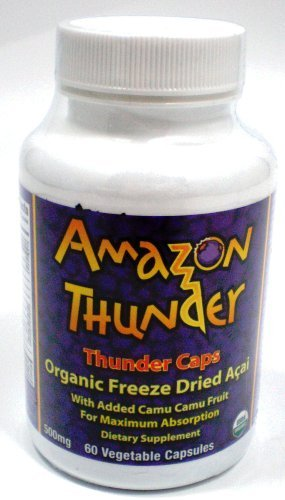 Amazon Thunder Organic Acai Berry Capsules 