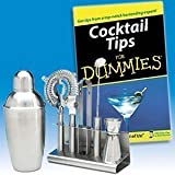 Cocktail Kit For Dummies (Barware, Home Bar Set)