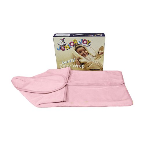 Junior Joy Baby Plain Bunty Wrap, Pink
