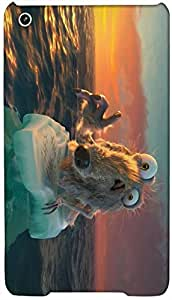 Timpax protective Armor Hard Bumper Back Case Cover. Multicolor printed on 3 Dimensional case with latest & finest graphic design art. Compatible with Apple iPad Mini / Ipad Air Design No : TDZ-24558
