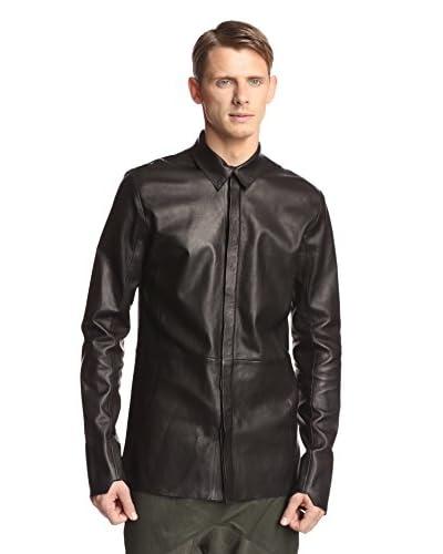 Alexandre Plokhov Men's Leather Shirt