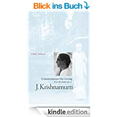 J Krishnamurti Commentaries On Living Series 1 (English Edition)