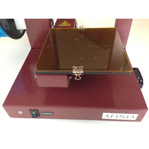 Borosilicate glass platform for Afinia and UP! 3D Printers