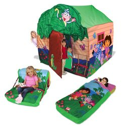 More Picture  sc 1 st  Playhut Tents & Playhut Tents: Dora the Explorer Mega Treehouse with Two ...