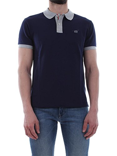 HENRY COTTON'S 83296 50 84471 BLU POLO Uomo BLU L