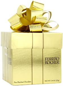 Ferrero Rocher Chocolates Gift Cube, 18 Pieces