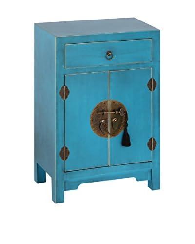 Oriental bed blauw