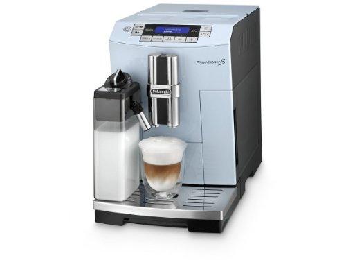 DeLonghi ECAM 28.465.AZ One Touch LatteCrema PrimaDonna S Vintage Kaffee-Vollautomat (Milchbehälter) azur thumbnail