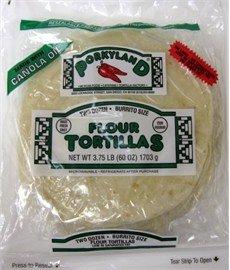 Burrito Size Flour Tortillas by Porkyland - 10