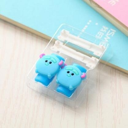 ZOEAST® Stitch Kitty Cat Monsters Inc Apple Lightning Data Cable USB Charging Data Line Saver Protector for iPhone 5 5C 5S SE 6 6S Plus IPad 2 3 4 IPad mini Air 2 iPad Pro iPod iWatch (Blue Sulley) (Monsters Inc Cases For Iphone 5s compare prices)