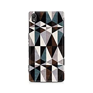 Mobicture Pattern Cross Premium Designer Mobile Back Case Cover For Sony Xperia Z2 L50W