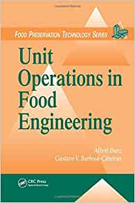 unit operations  food engineering food preservation technology  medicine