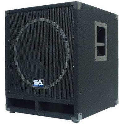 "Seismic Audio - Baby-Tremor - 15"" Pro Audio Subwoofer Cabinet - 300 Watts RMS - PA/DJ Stage, Studio, Live Sound Subwoofer by Seismic Audio"