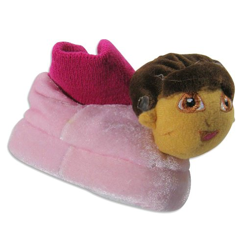 Image of Nickelodeon - Infant Girls Dora The Explorer Bootie Slippers, Pink 21133 (B007HBP4LK)