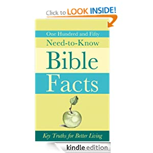 150 Need-to-Know Bible Facts: Key Truths for Better Living (VALUE BOOKS) Ed Strauss