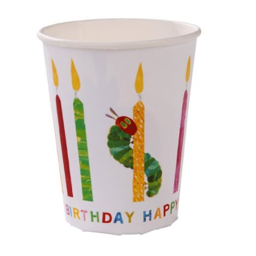 Hungry Caterpillar Birthday Party Cups 1 Packung