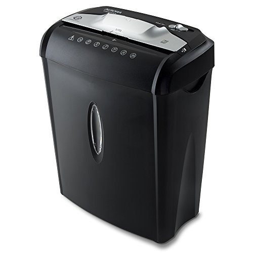 Aurora AU740XA 7-Sheet CrossCut Paper / Credit Card Shredder with Basket, Featuring Overheat Protection, Auto Start/ Stop, and Manual Reverse/ Forward Setting to Clear Paper Jams