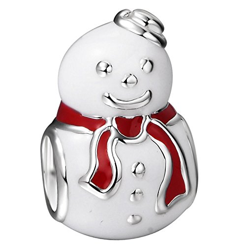 You Choose Multi-Selection Snowman Silver Charms