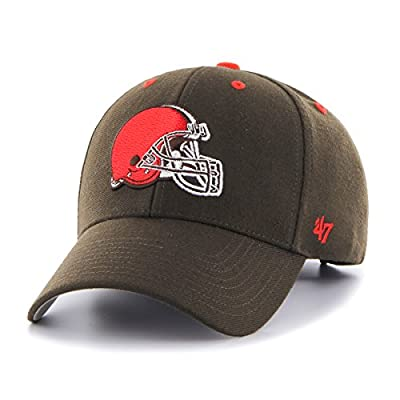 NFL Clevelands '47 MVP Adjustable Hat, One Size, Brown
