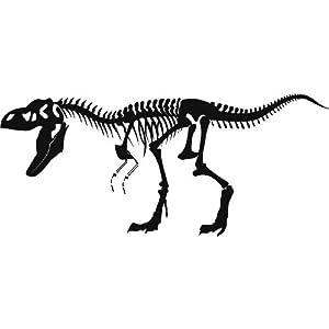 Esqueleto t rex los dinosaurios pared pared adhesivos
