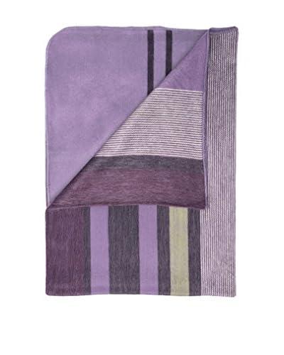 Alpaca Blanket, Modern Violet