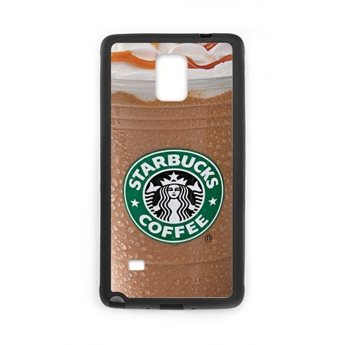 Custom Mobile Phone Shell Starbucks Coffee Owl Custom Case For Samsung Galaxy Note 4 (Laser Technology) Cases