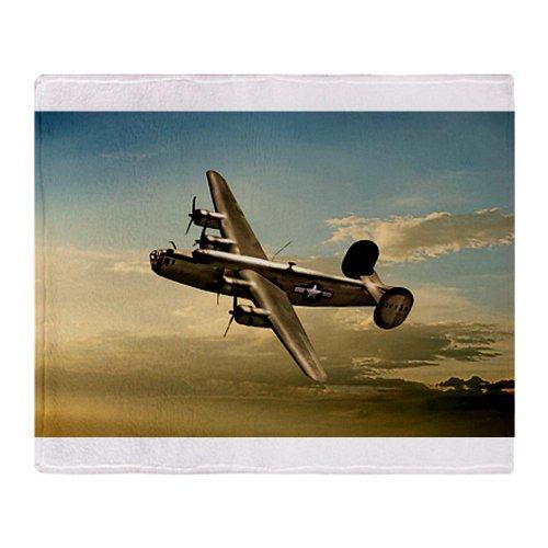 CafePress B-24 Liberator Throw Blanket - Standard Multi-color