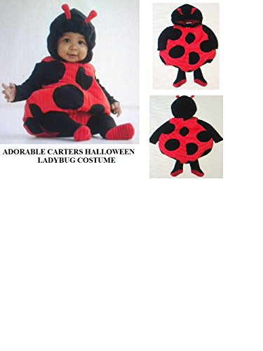 Ladybug Halloween Costume 3pc Toddler / Baby 18 MO NEW Carter's
