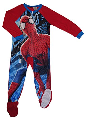 DC Comics Spider-Man Boys' Blanket Sleeper Pajamas