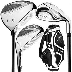 Best Golf Club Sets Callaway Golf Solaire 9 Piece Complete Club Set