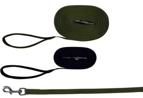 Trixie monitoraggio Piombo piatto Strap, 10 m x 20 mm, nero