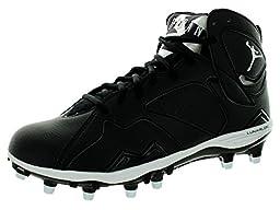 Nike Jordan Men\'s Jordan Retro 7 Td Black/White/Black Football Cleat 9.5 Men US
