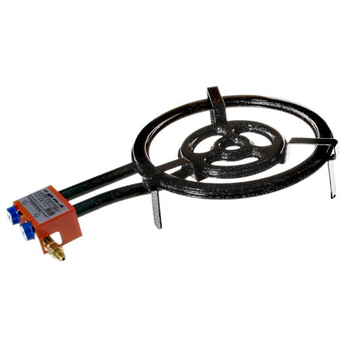 EXTREM STARKER GASBRENNER, 3-Ring, 40cm Durchmesser, 15,05 KW LEISTUNG, für Paella, etc. günstig